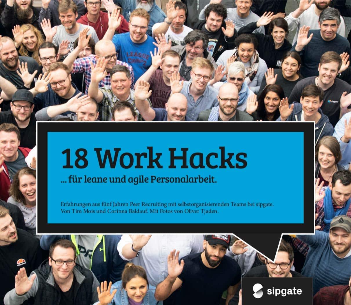 Cover: 18 Work Hacks